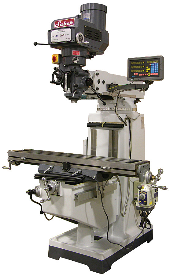 Saber 3VM Variable Speed Milling Machine