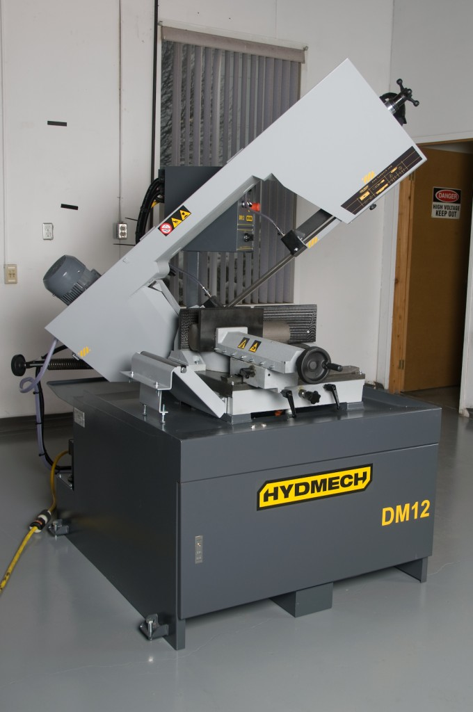 Hyd-Mech DM-12 Double Miter Band Saw