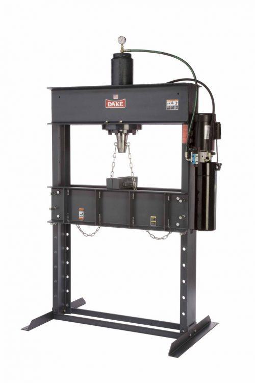 Dake Dura Press Electric H-Frame press - 10 ton