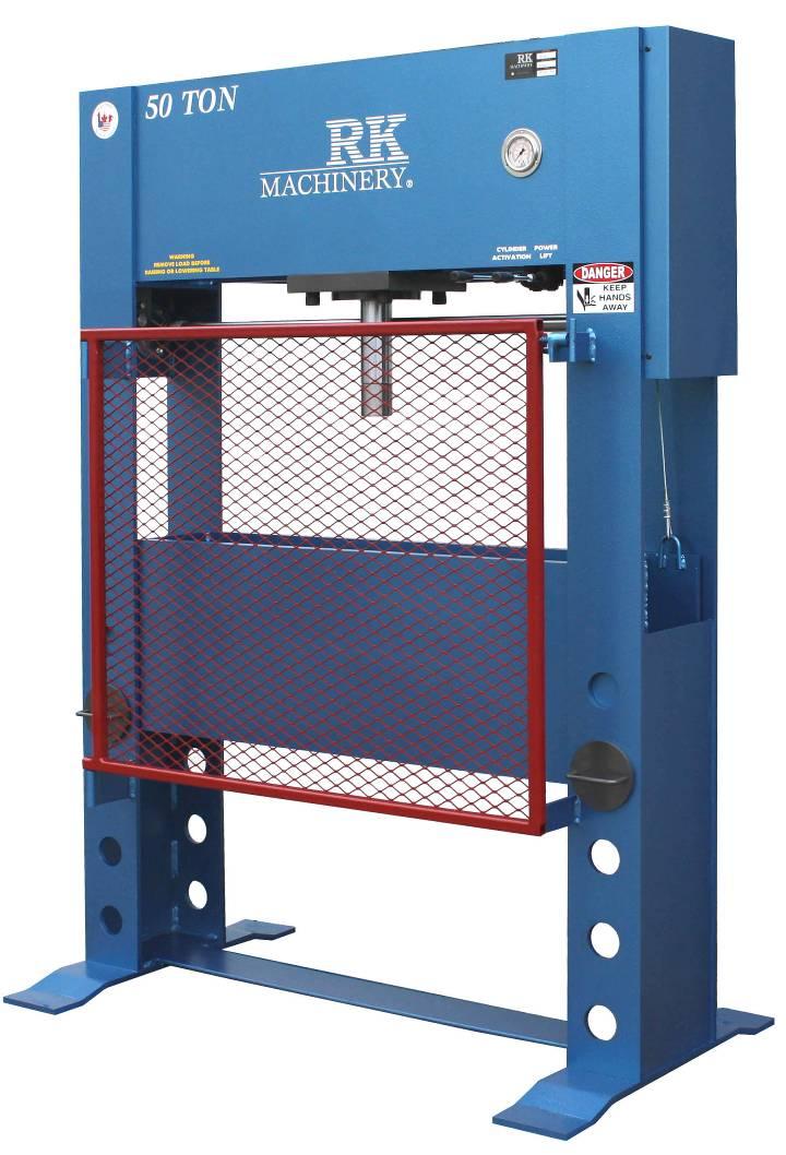 RK Machinery HFP50T Hydraulic Press