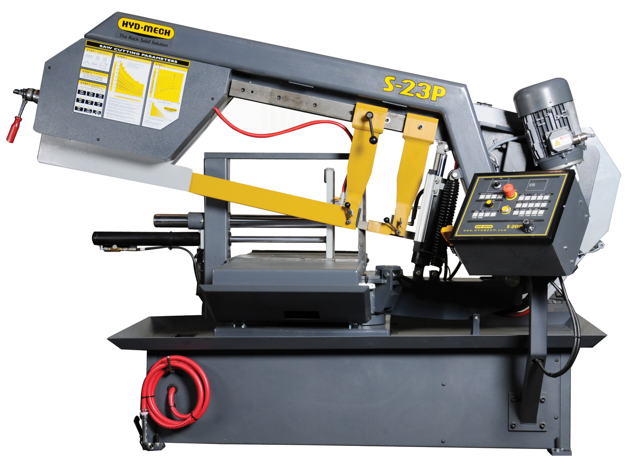 Hyd-Mech S-23P Semi-Automatic Scissor Style Band Saw