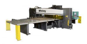 Whitney 3400 HEAVY/HXT Punch/Plasma Combination Machine