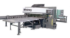 Whitney 3400 XP Punch/Plasma Combination Machine