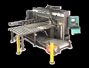 Whitney 3400 Punch/Plasma Combination Machine